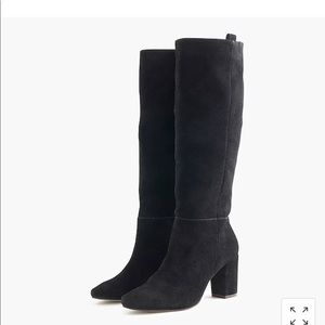 J Crew suede tall boots E1117